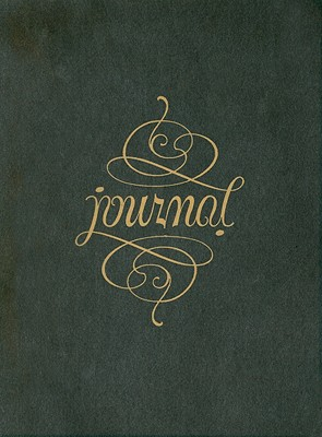 Ambigram Journal By Peter Pauper Staff
